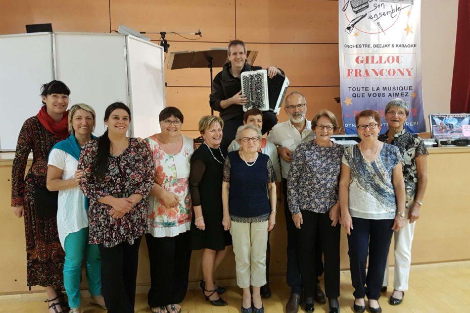 Musique accordéon dj Gillou francony