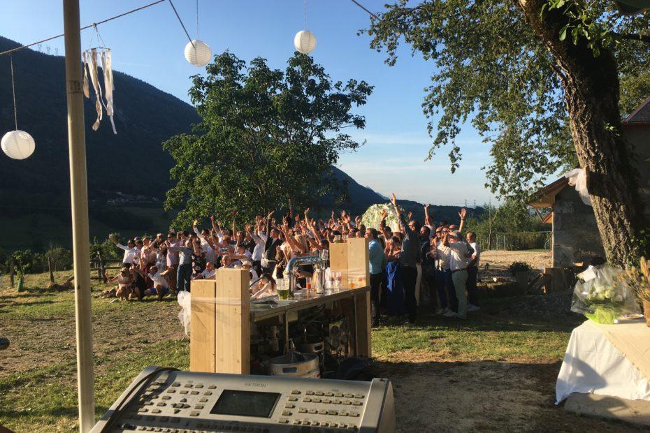 Chambéry aix-les-bains accordéoniste mariage