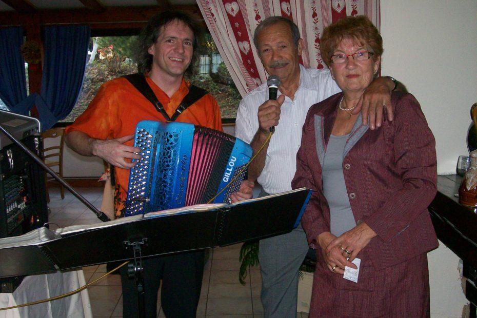 Animation anniversaire DJ orchestre accordéon chambéry